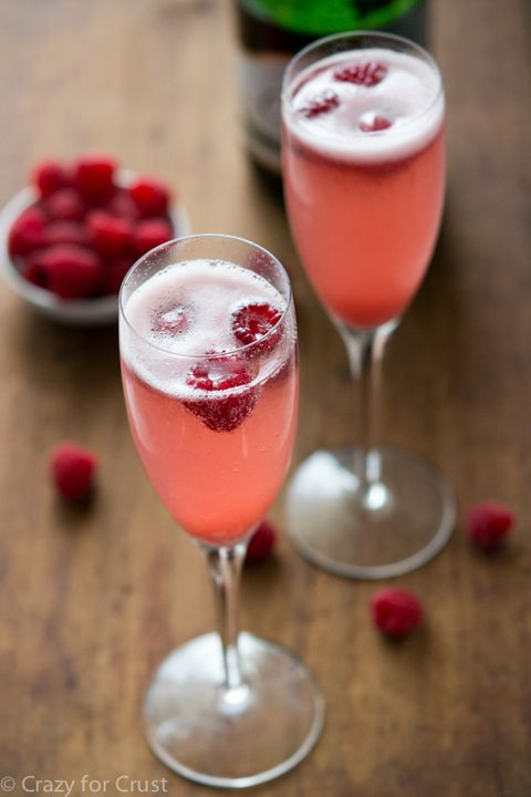 courtesy of crazy for crust champagne punch bellini