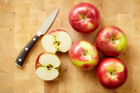 Delish - Sliced Apple Hacks
