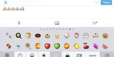 Cake, cake, cake, cake.