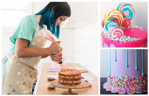 How To Make Vibrant Drip Design Cakes Like Katherine Sabbath