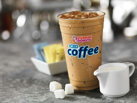 Dunkin' Donuts Iced Cofee