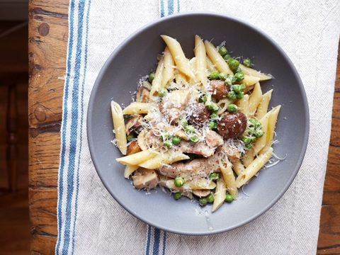 Dish, Food, Cuisine, Penne, Ingredient, Karedok, Meat, Produce, Italian food, Staple food,