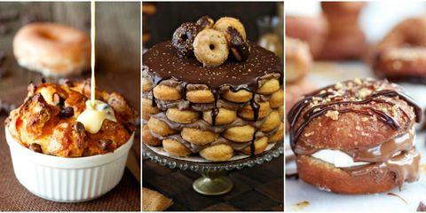 Donut desserts
