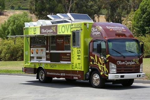 Olive Garden Launching Food Truck Tour to Promote Breadstick ...