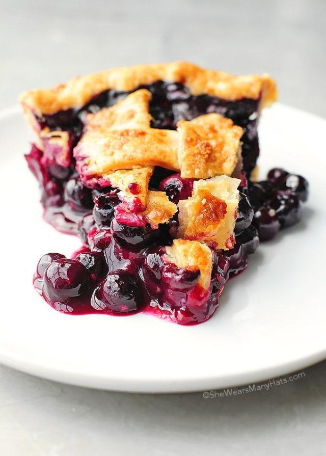 How to fix runny blueberry pie