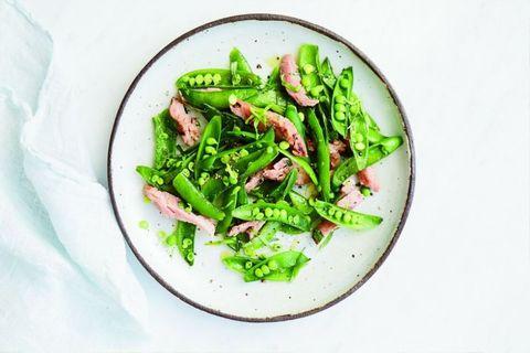 Food, Ingredient, Produce, Dishware, Leaf vegetable, Vegetable, Cuisine, Plate, Recipe, Salad,