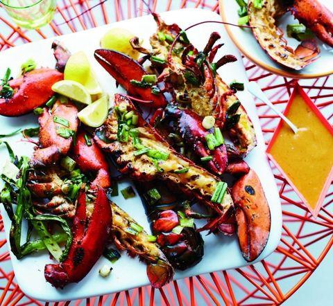 Food, Ingredient, Cuisine, Dish, Seafood, Recipe, Tableware, Plate, Garnish, Fast food,