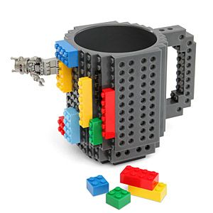 Untuk all those years you told him to get his own Legos. ThinkGeek, $15