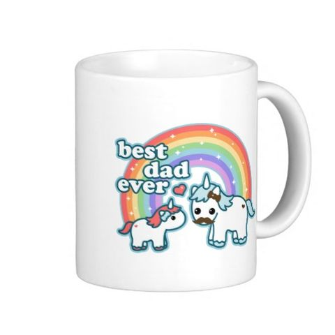 Kapan it comes to dads, your father is truly a unicorn. Finally—a mug that captures that special sparkle only he has. (And, okay, reminds you of all the times he yelled a string of obscenities after tripping over one of your My Little Ponies. Sorry, Dad.) Zazzle, $17