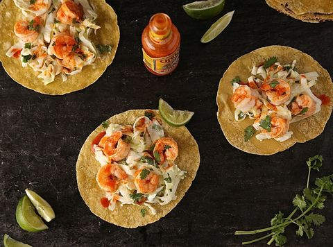 Dish, Food, Cuisine, Ingredient, Shrimp, Flatbread, Finger food, Seafood, Staple food, Scampi,