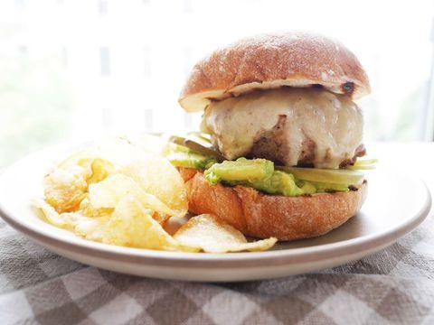 Dish, Food, Cuisine, Hamburger, Ingredient, Breakfast sandwich, Junk food, Slider, Produce, Fast food,
