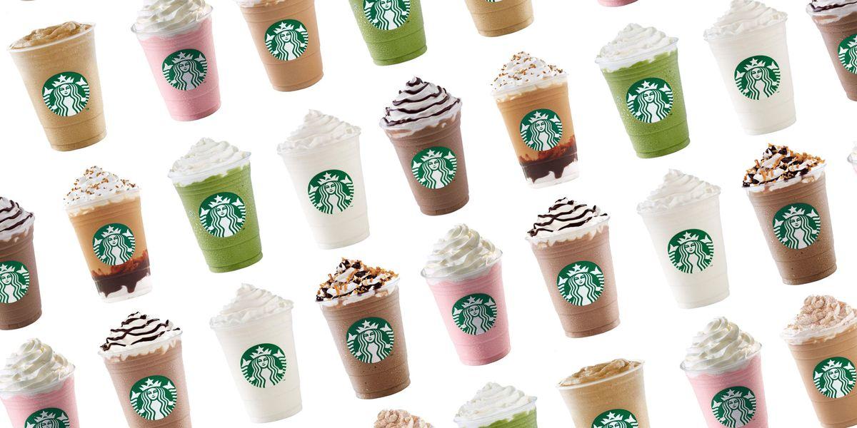 Top 10 Starbucks Frappuccino Flavors