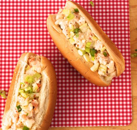 you don't need to get fancy with lobster, shrimp is an equally as delicious filling   get the recipe from delishcom