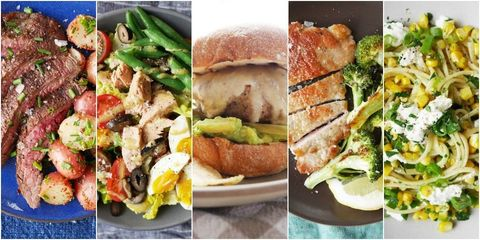 Easy Weeknight Dinners Collage