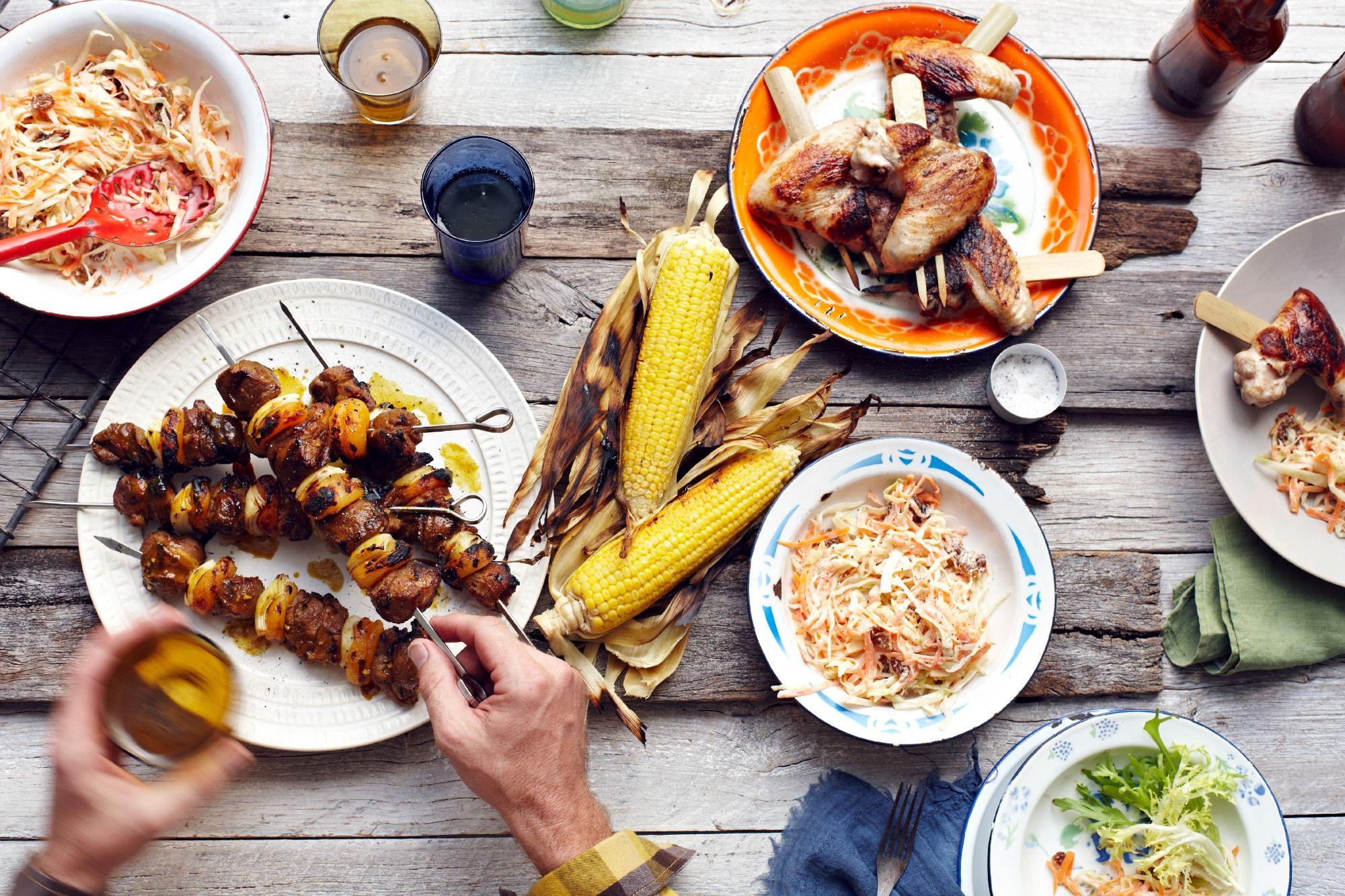 Seafood Dinner Party Menu Ideas Part - 41: Summer Cookout Menu Ideas - Grilling Recipes For Summer Holiday Menus U2014Delish.com