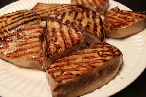 Lidey's Table - Grilled Tuna Steaks