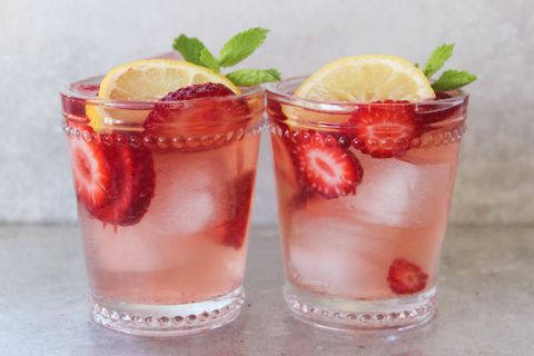 spiked strawberry lemonade recipe   delishcom