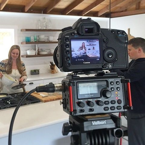 Against All Grain's Danielle Walker Films in Her Kitchen
