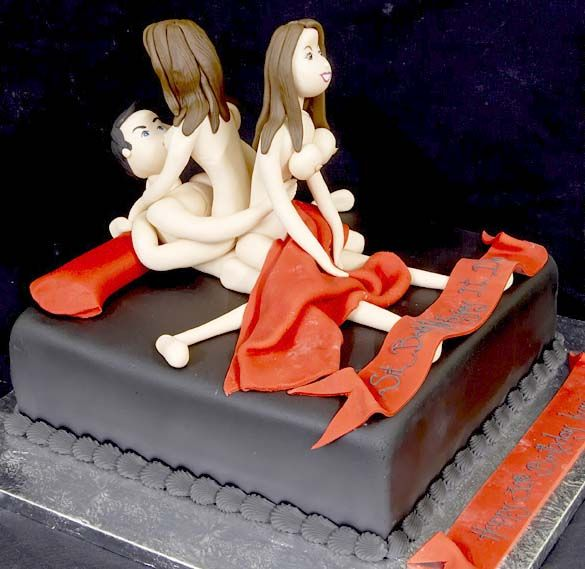 Brilliant Best Erotic Cakes For Bachelorette Parties Delish Com Funny Birthday Cards Online Hendilapandamsfinfo