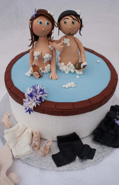 Superb Best Erotic Cakes For Bachelorette Parties Delish Com Funny Birthday Cards Online Elaedamsfinfo