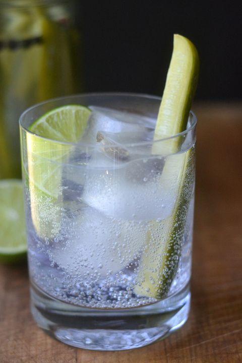 Fluid, Liquid, Glass, Drink, Cocktail, Citrus, Tableware, Alcoholic beverage, Ingredient, Drinkware,