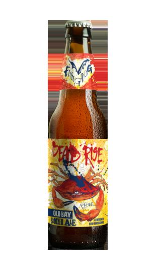 นี้ grassy-hopped brew is seasoned with the savory crab-boil staple, making it a bold but welcome departure from summer's easy-drinking citrus suds.