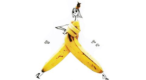 Yellow, Fruit, Produce, Banana family, Cooking plantain, Banana, Natural foods, Saba banana, Superfood, Peel,