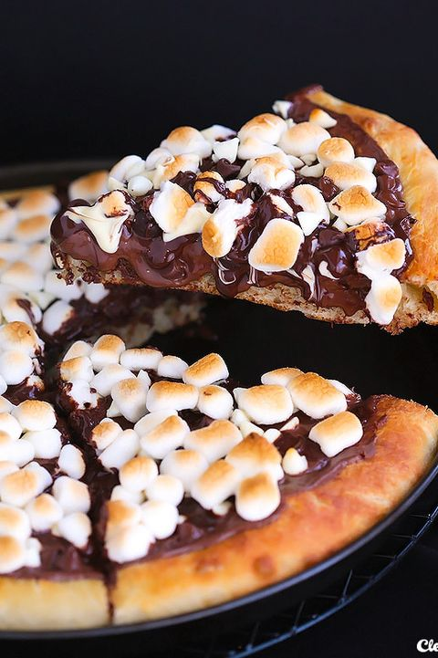easy dessert pizza ideas 2+ Dessert Pizza Recipes - Best Sweet Pizza Ideas