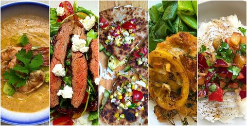 Weeknight Dinners 7-6 Collage