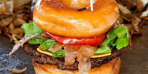 The Best Foods at the Fair - Luther Burger
