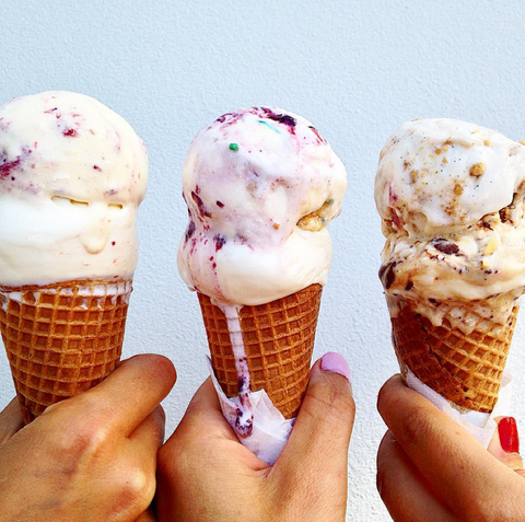 Finger, Food, Ice cream cone, Cuisine, Dessert, Ice cream, Cone, Ingredient, Frozen dessert, Sweetness,