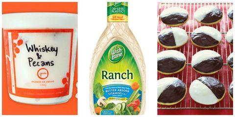 Green, Ingredient, Logo, Dessert, Label, Sweetness, Condiment, Natural foods, Recipe, Chocolate,