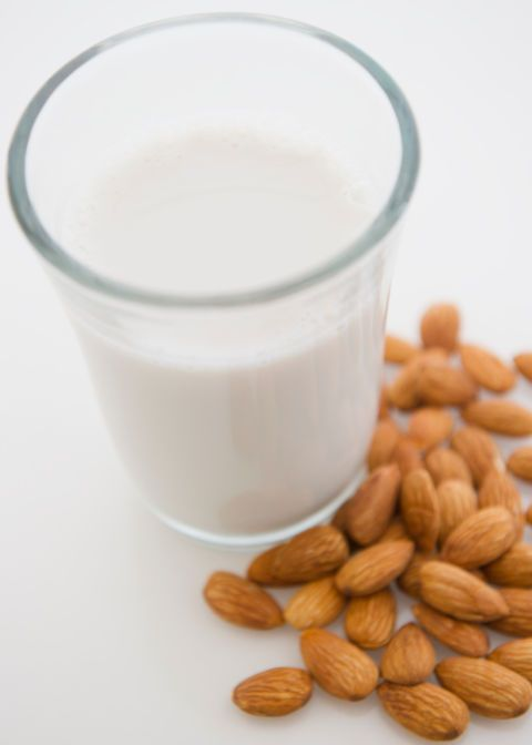 Food, Milk, Almond, Ingredient, Lactose, Soy milk, Grain milk, Plant milk, Almond milk, Drink,