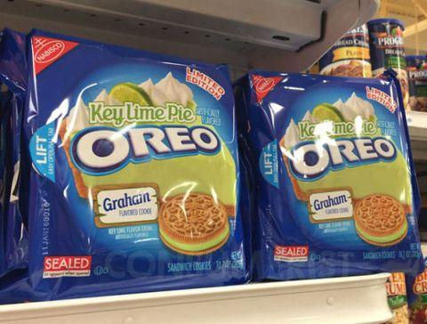Oreo, Food, Logo, Finger food, Ingredient, Baked goods, Cuisine, Convenience food, Breakfast, Cookies and crackers,