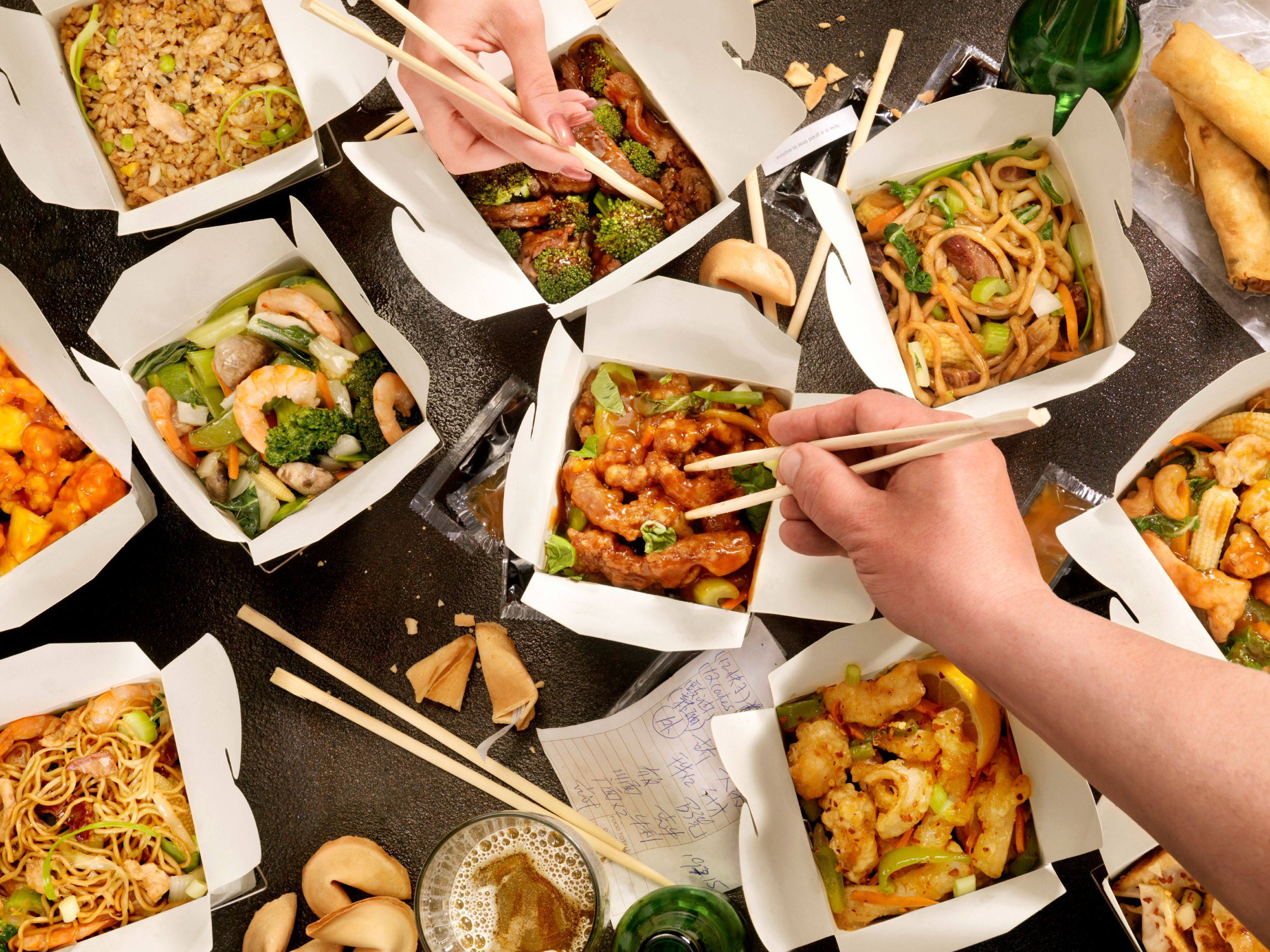 Chinese meals