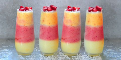 triple layered pina coladas
