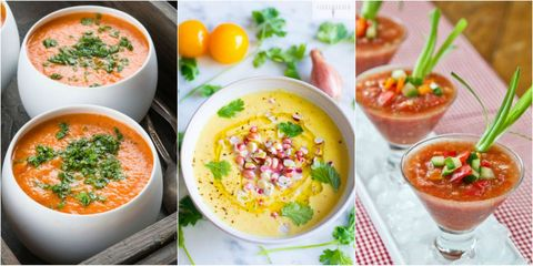 17 Best Summer Gazpacho Recipes Easy Cold Summer Soups Delish Com
