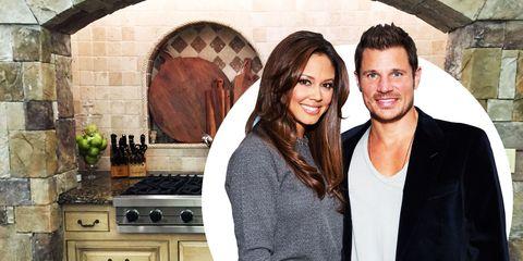 Vanessa and Nick Lachey's Kitchen Tour
