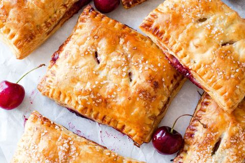 delish cherry pastry pies