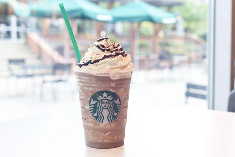 Starbucks Mocha Coconut Frappuccino