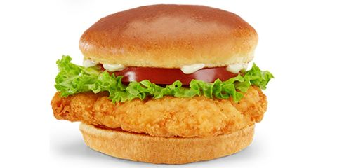 "<p><strong>Official Menu Description:</strong> ""A tender and juicy crispy chicken breast filet with fresh tomato, crisp leaf lettuce and mayonnaise. All atop our delectable artisan roll.""—<a href=""http://www.mcdonalds.com/us/en/home.html"" target=""_blank""><em>McDonald's website</em></a></p><p> <strong>Verdict:</strong> That delectable artisan bun they speak of is just a super-sweet, gag-inducing creation that the tongue ultimately rejects. The chicken itself was forgettable, especially under soggy lettuce, limp tomato and too much mayonnaise.</p>"