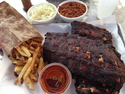 Chicago Most Delish - Smoque - Baby Back Ribs