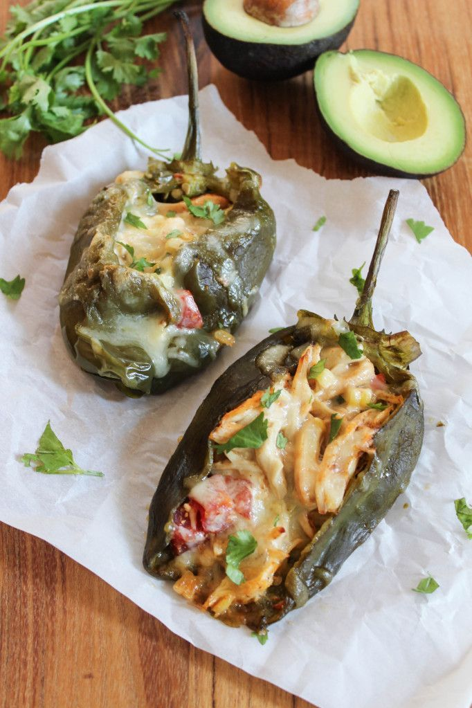 "<p>The best kind of vegetables are Tex-Mex stuffed vegetables. Duh.</p><p>Get the recipe from <a href=""http://bitesofbri.com/2014/09/chicken-corn-stuffed-poblano-peppers/"">Bites of Bri</a>.</p>"