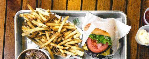 Food, Fried food, Finger food, Ingredient, Deep frying, French fries, Vegetable, Fast food, Breakfast, Cuisine,