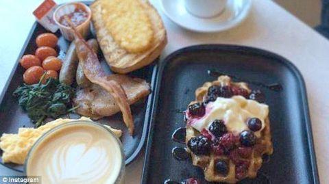 Food, Cuisine, Serveware, Dishware, Ingredient, Dish, Tableware, Meal, Plate, Breakfast,