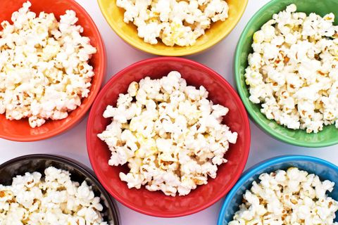 Rainbow Bowl Popcorn
