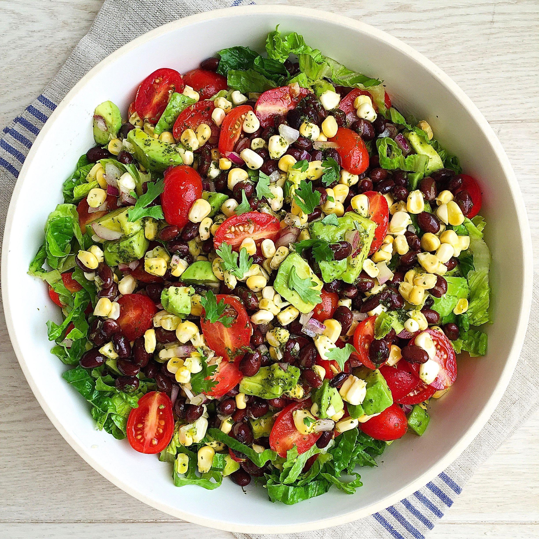best southwestern chopped salad recipe how to make southwestern