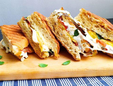 dish, food, cuisine, ingredient, sandwich, baked goods, finger food, panini, produce, staple food,