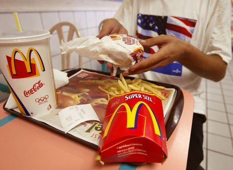 McDonald's quarter pounder