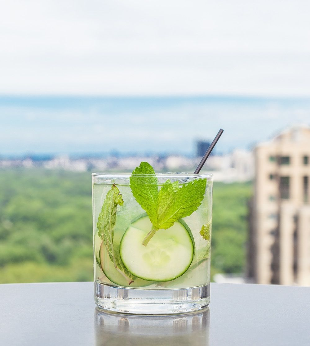 Drinks  >> Best Elyx Cup Recipe How To Make An Elyx Cup Delish Com